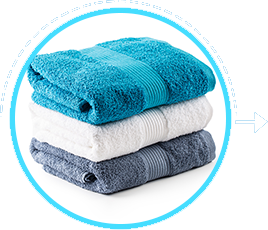 Use a dry towel to wipe your body dry after a shower or a swim